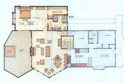 Home Plans with Master Bedroom on Main Floor | Coastal Home Plans